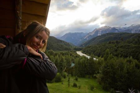 PÅSKEFERIE PÅ HYTTA: Det fins hyttedrømmer og hyttedrømmer. Mariann Sæthers versjon er av den eksotiske typen som ikke omtales i interiørmagasiner. Hun tilbringer påska på hytta si i Patagonia.
