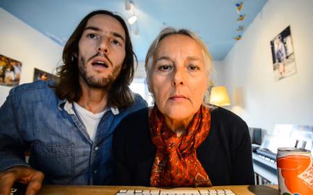 HVIS MOR SAMTYKKER: Alexander Lyngaas inviterer mor til å vurdere om teaserfilmen til helgens Tryvann Downhill Challenge legges ut på nett.