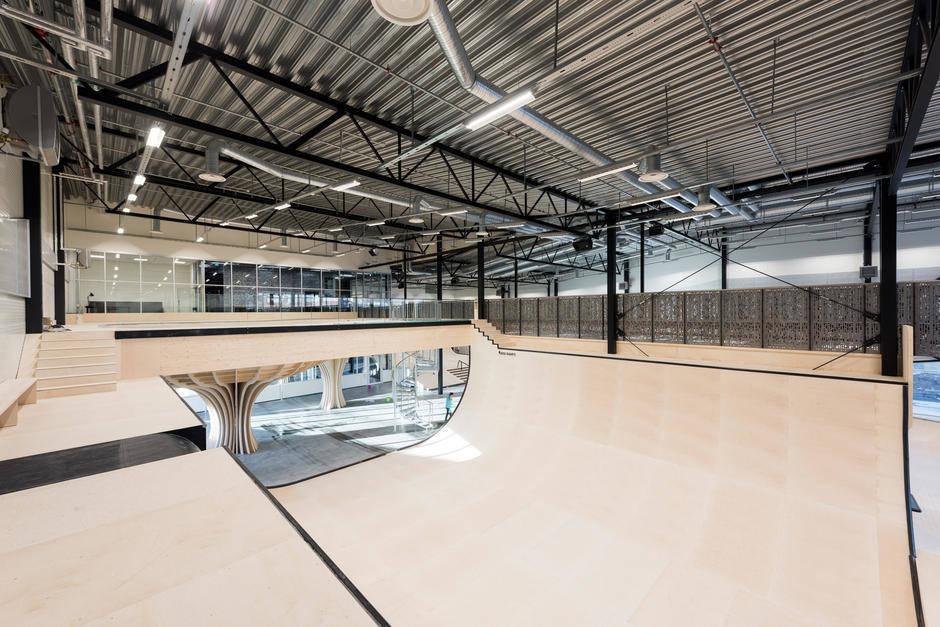 Oslos nye skatehall. Foto: Oslo kommune