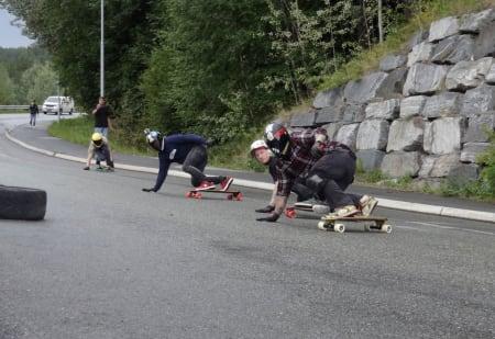 Mikael Jensen, Roar Fønseth, Morten Espeseter og Caspar Grøtte.
