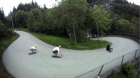 SVINGER: I og rundt Bergen fins mange bratte og svingete veier!