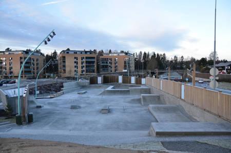 PARKER: Her er noen av parkene du bør besøke. Her fra Kolbotn. Foto: Oppegård kommune