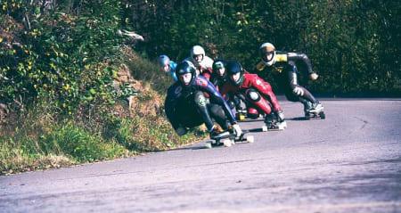 MILJØ: Longboarderne ønsker å bygge opp miljøet i Norge. Foto: Tanya Raab, NDSF