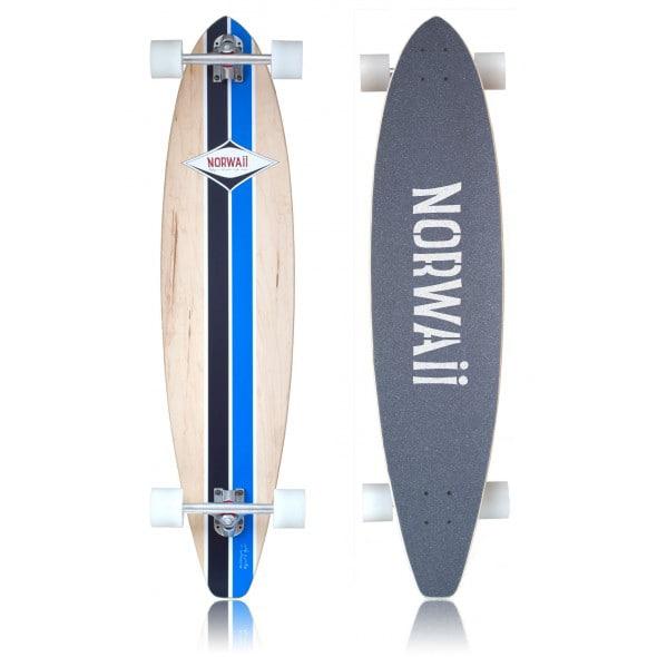 NORSKE LONGBOARDS: Norwaii er ekte, norskdesignede longboards, produsert i USA.
