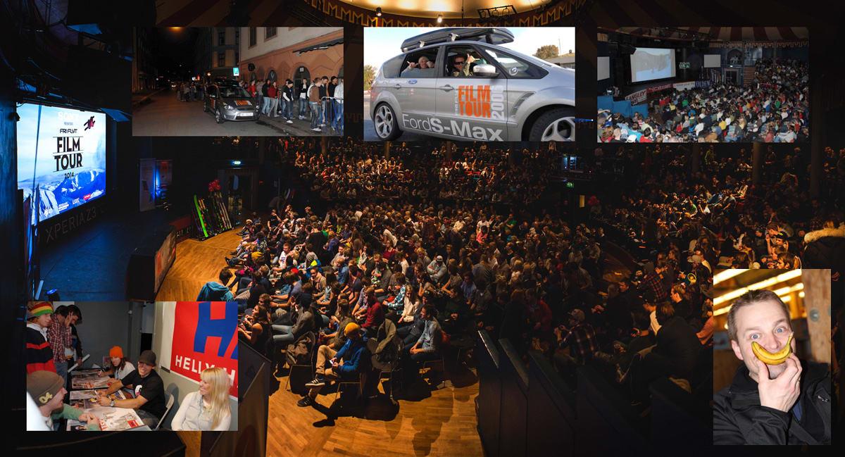 TJUE ÅR MED INSPIRASJON: Fri Flyts filmturné er like gammel som Fri Flyt. Fredag er det turnéstart og 20-års bursdagsfest. Foto: Torbjørn Buvarp, Endre Løvaas og Tore Meirik