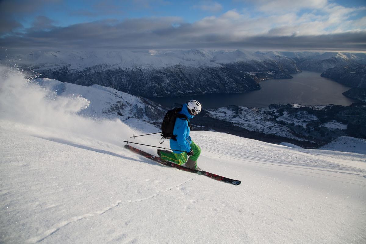 BORTEBANE? Per Magne Drotninghaug er lokal i Fjellsetra, men han trives på Strandafjellet også. Foto: Thomas Kleiven