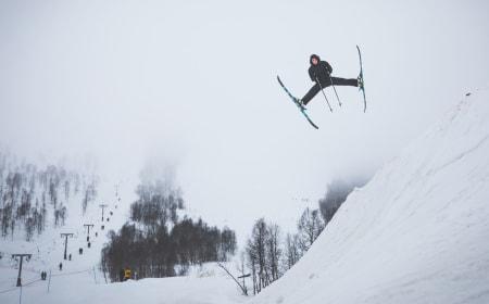 KOSAKK: Magnar Musum kan mer enn dumpsterdiving. Foto: Fjellsportfestivalen / Marius Amundsen