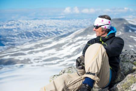 – HAR LIVETS RETT: Idar Aaboen er ny eier av Stryn sommerskisenter, og han er overbevist om at skisenteret kan leve godt med kontroll på økonomien og realisme i drift og investeringer. Foto: Emil Eriksson