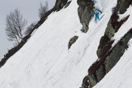 Oliver Östberg kom fra Ramundberget i Sverige for å kjøre frikjøringsrenn i Oppdal.