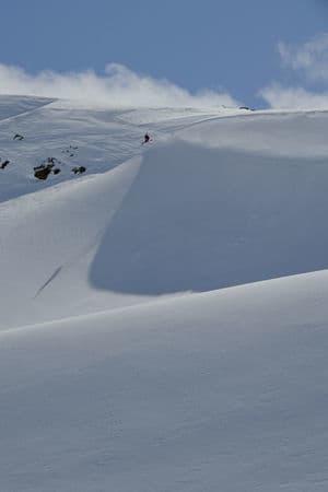Finseth liker luft under skiene. Bilde: Endre Løvaas