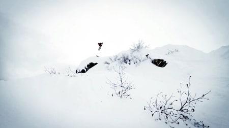 360 PÅ AMERIKANSK: Nikolai Schirmer koser seg med en helikopterfri topptur-treseksti i Alaska.