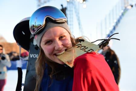 SLITER MED MOTIVASJONEN: Dobbel X Games-vinner Tiril Sjåstad Christiansen innrømmer at hun har vurdert å legge opp på grunn av skadeproblemene, men at det ikke er så lett å være åpen om i toppidrettsmiljøet. Foto: Phil Ellsworth