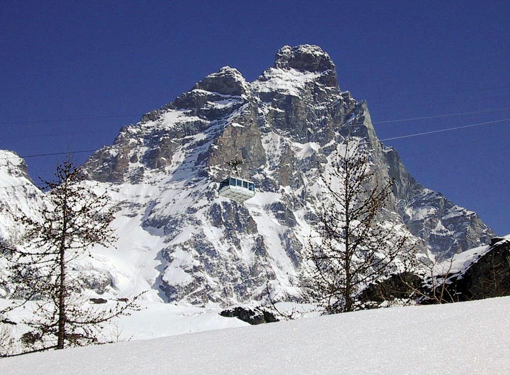 Alpesnøen er ankommet