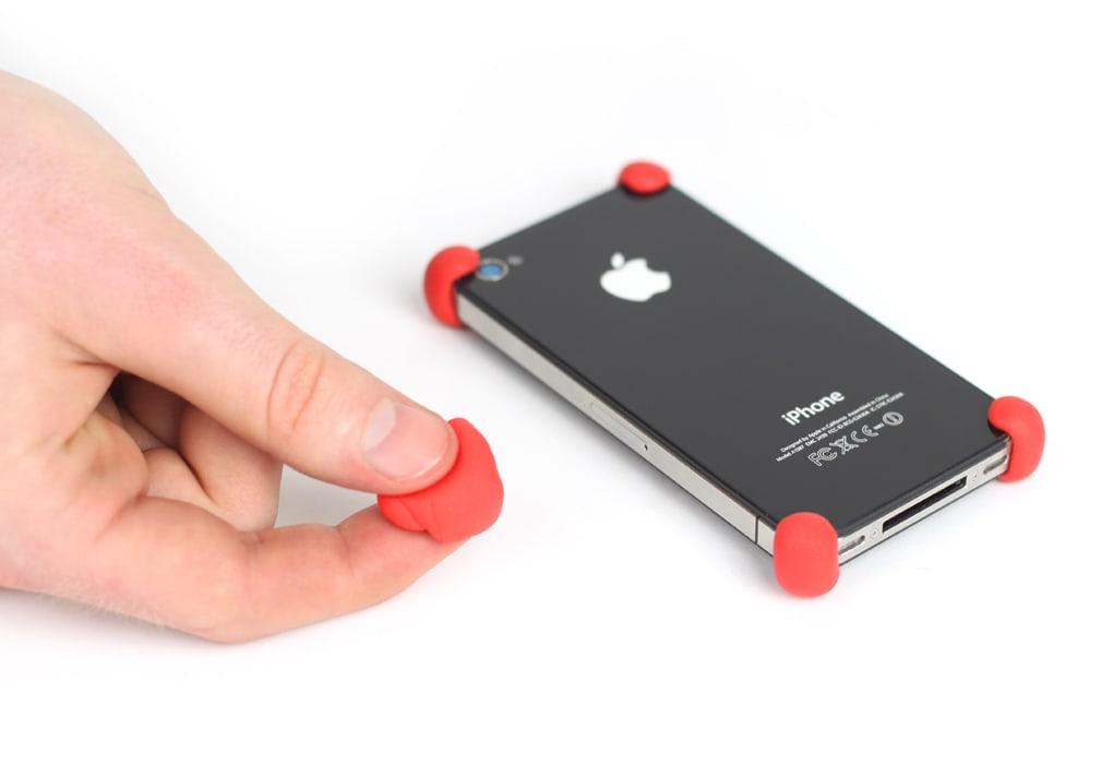 BREDT BRUKSOMRÅDE: Hjørnebeskyttelse til telefonen din er ett av svært mage bruksområder til Sugru.