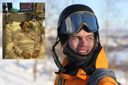 DRAMATISK: Les den utrolige historien om da Andreas Vold overlevde en voldsom skredulykke i Sogndal i fjor - mot alle odds. Foto: Håvard Nesbø/ privat