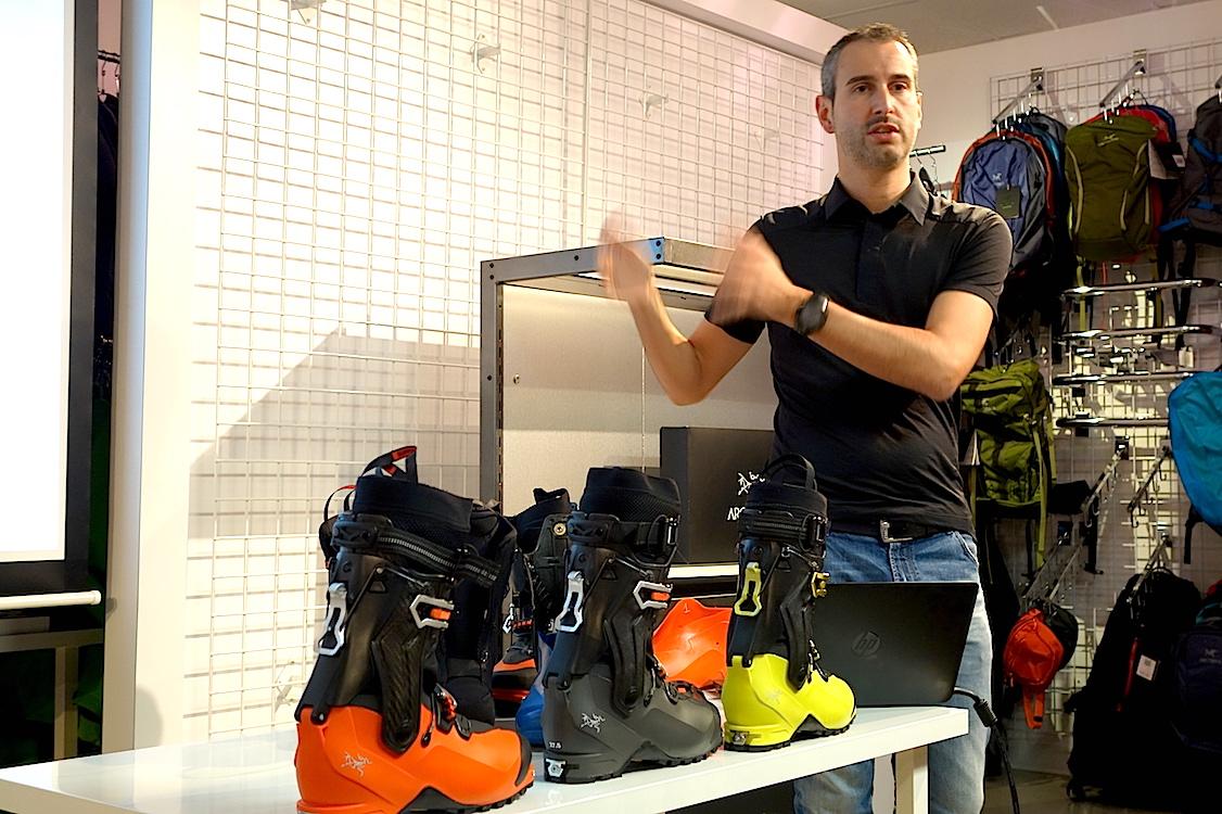 Arc´teryx lanserer skistøvler