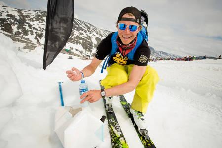 Asbjørn Eggebø Næss endte øverst på seierspallen. Foto: Vegard Breie