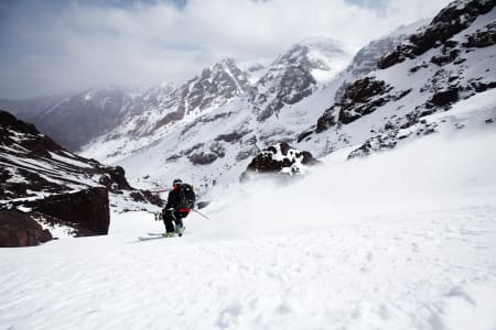 Stilig skiføre i Afrika