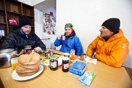 Wildhagen, Hagen og Nørreslet spiser frokost