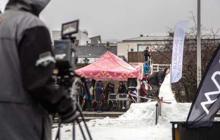 VANT STILPRISEN: Ole Andreas Dyrhovden ble nummer tre overall, men vant prisen for beste stil I Bergen lørdag. Foto: Thomas Bøthun