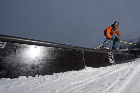 Anders Backe er fast inventar i Hemsedal -som han har på sin fyldige liste over sponsorer- og selvsagt i parken. Foto: Kalle Hägglund