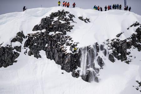 BRA FORHOLD: Bra lys og bra snø på årets utgave av XFREE. Bilde: Olav Standal Tangen/X2