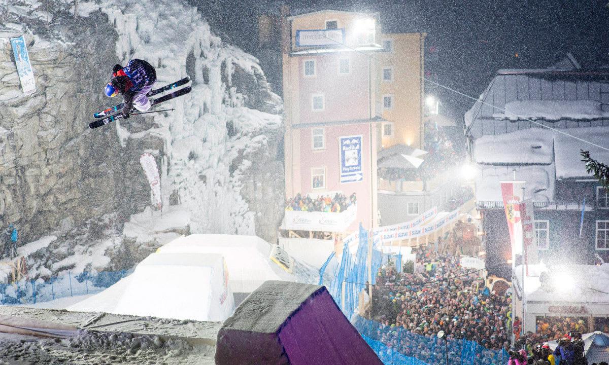 COMEBACK: Den urbane slopestylekonkurransen RedBull Playstreets gjør comeback til vinteren. Foto: RedBull Content Pool.
