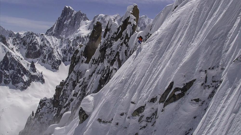 KALKULERT RISIKO: Fransson er klar over hvilken risiko han utsetter seg selv for nesten hver eneste dag, men han kan ikevel ikke tenke seg et liv uten fjellene.