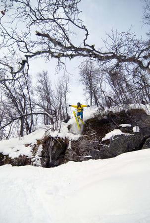 En 15 år gammel gutt dropper for første gang. Foto: Bjørnar Bjørhusdal