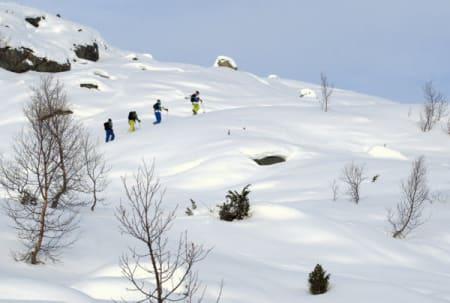 Toppturer er i fokus på Fjellsportfestivalen. Foto: Øyvind Waitz