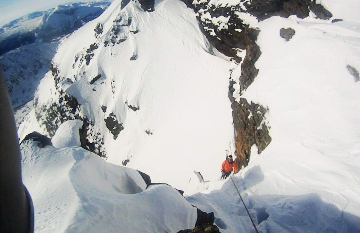 Bratt rennekjøring i Norges Chamonix (?)