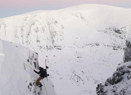 Brattkjøringforhold i Troms