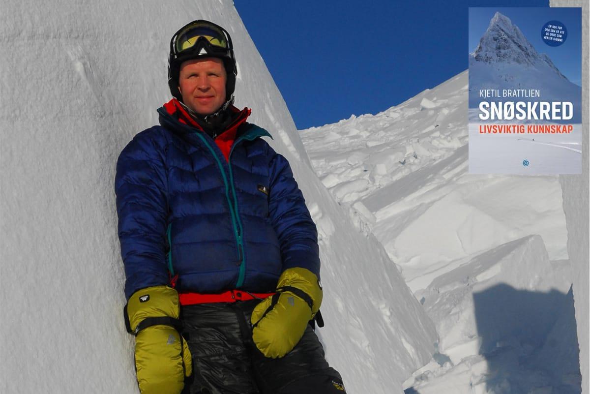 NY BOK OG NYE METODER: Kjetil Brattlien går nye veier i sin nye snøskredbok. Foto: Marte Stensland Jørgensen
