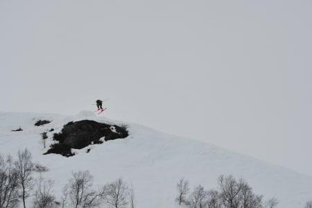 UTFORDRENDE: Forholdene var ikke optimale, men det ble likevel gjennomført to konkurransedager. Foto: Per Inge Fjellheim