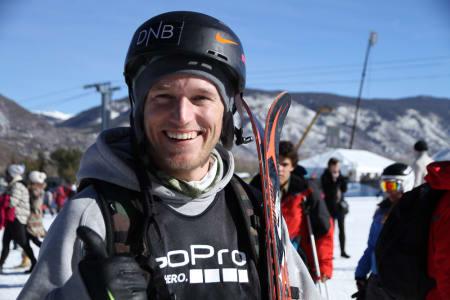 8 X-MEDALJER: Andreas Håtveit tok sin åttende X Games-medalje i dagens slopestylefinale. Foto: Christopher Frankum