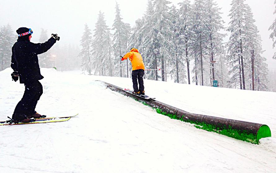 Damenes dag i Oslo Vinterpark