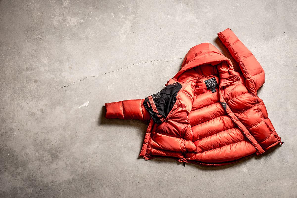 BØNNER: Denne jakken inneholder bønneoljen Ricin. Foto: Klättermusen