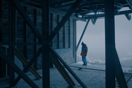DOKUMENTARFILM: Dennis Risvolls verdenscupeventyr blir dokumentarfilm. Den skal vises på NRK. Foto: Planckfilm