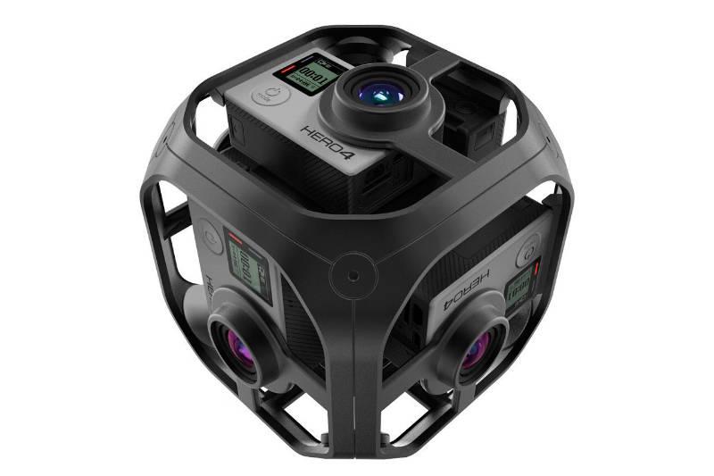 VR: Dette er GoPro Omni. Foto: GoPro