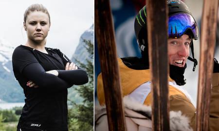 STJERNE: Det var skistjernen Tom Wallisch som ga Tiril inspirasjonen til å bli skistjerne. Foto: Vegard Breie / Rune Bendiksen TV 3