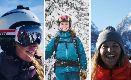 Jentene i MIL skifilm får stipend på 25.000 kroner fra Fjellfilmstipendet.