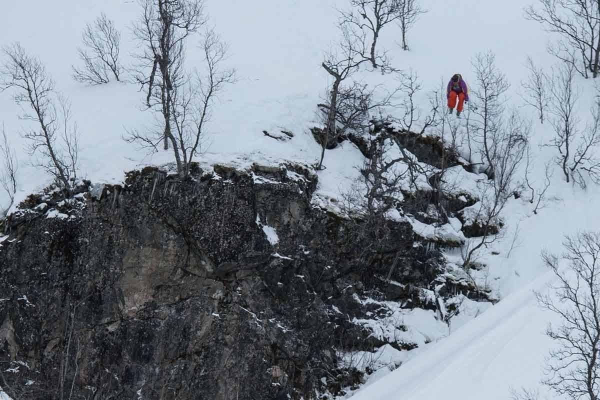 KLART: Dennis Risvoll er blant de som kjører Sogndal Freeride i år. Foto: Bård Basberg