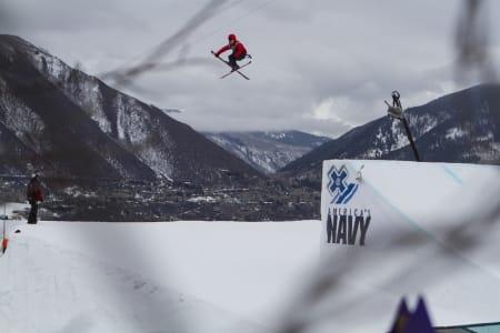 KLAR FOR BIG AIR: PK Hunder kjører big air-konkurransen i Aspen neste uke. Foto: ESPN