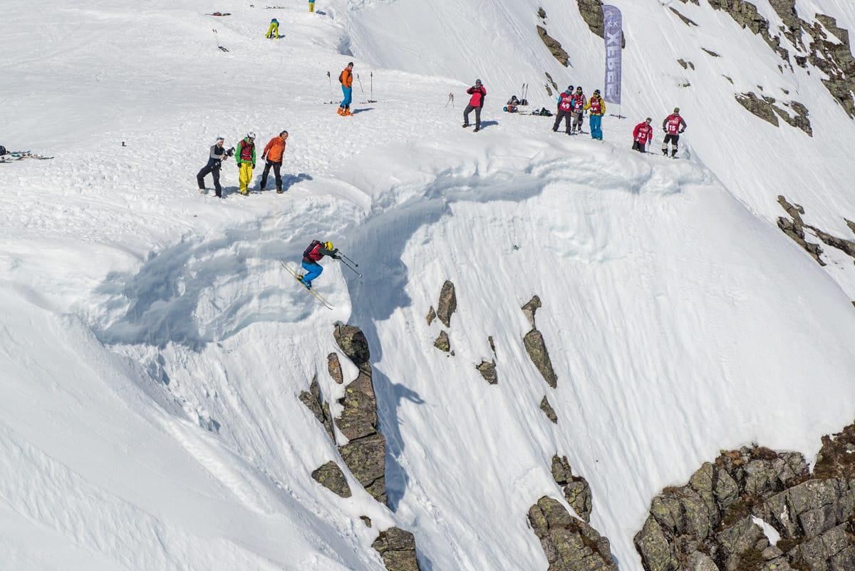 XFREE: I morgen kjøres konkurransen ved Ørsta Skisenter. Foto: Olav Standal Tangen