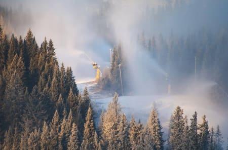 Disse skianleggene er åpne i helga