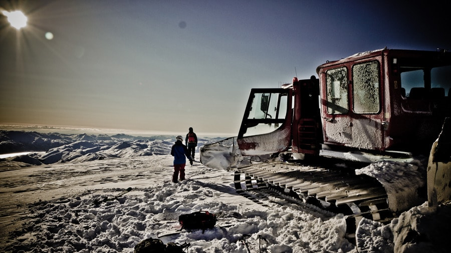 HØRING: Innen midten av desember skal framtiden til catskiing i Norge avgjøres. Der kan beltevognene vente seg lite støtte fra DNT. Foto: Janne E. Andersson