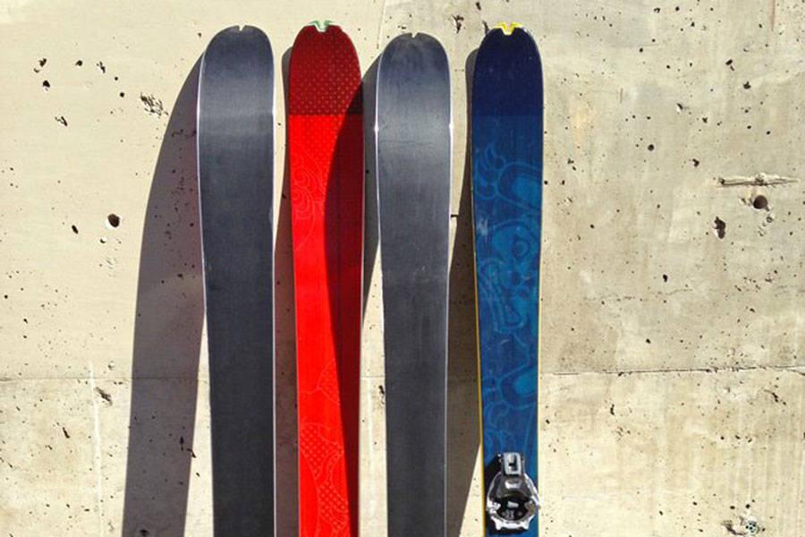KJØREORIENTERT: Framtidas Dynafit-ski er tyngre, og med mer frikjøringsretta form og størrelse enn vi har sett fra Dynafit tidligere.