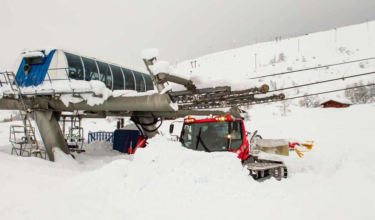 REDUSERER: Eikedalen Skisenter gjør et kraftig kutt i prisene. Foto: Jan Petter Svendal