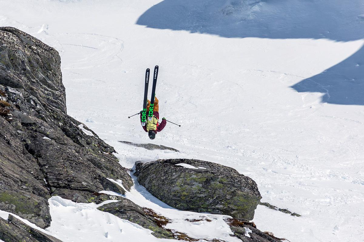 INN TIL SEIER: Her kjører Schjølberg inn til seier i årets RFC. Foto: Espen Mills