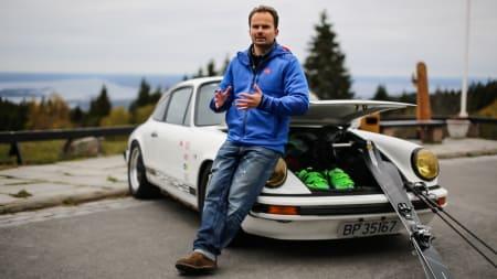 YOUTUBE-NEGATIV: Fredrik er fornøyd med Carl Peder, men har likevel en appell til den yngre generasjonen om å ta det litt rolig. Bilde: Christian Nerdrum